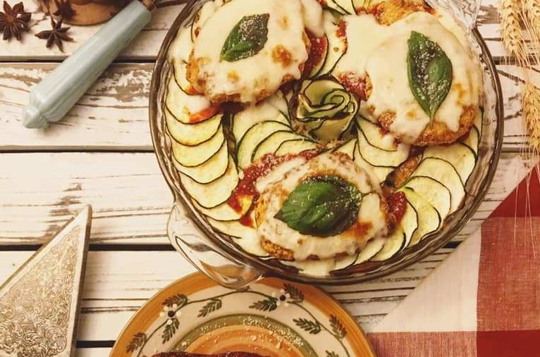 Baked Chicken Parm Spaghetti Recipe by Ash's In The Kitchen