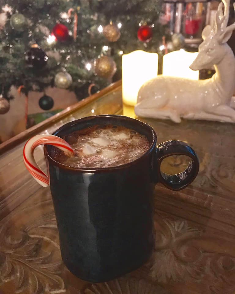 Comforting Chili Hot Cocoa Chocolate Drink Recipe by Ash's In The Kitchen