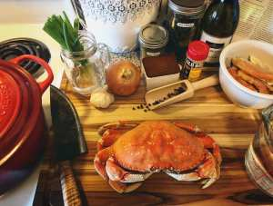 Seafood Broth Crab Shrimp Recipe by Ash's In The Kitchen