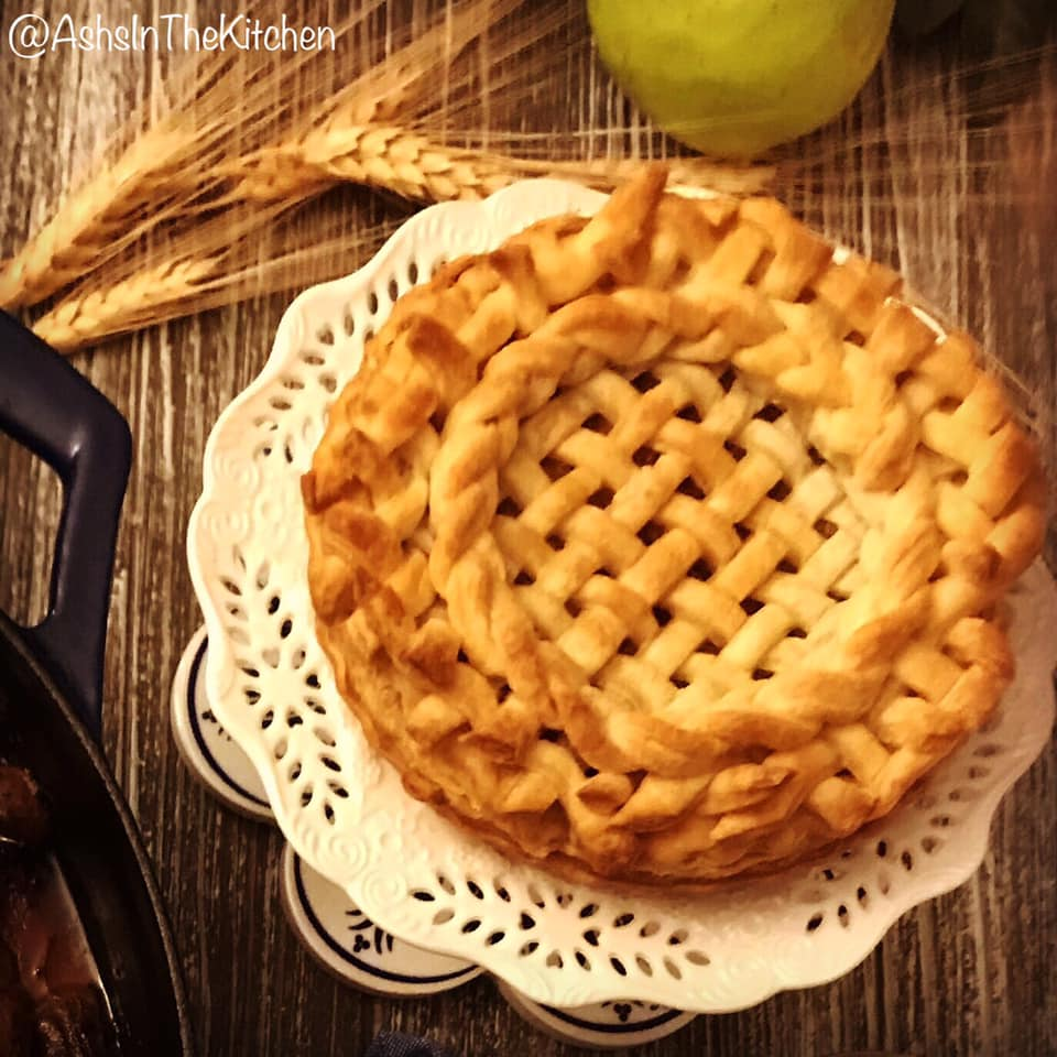 Puff Pastry Sweet Onion Pie Recipe by Ash's In The Kitchen