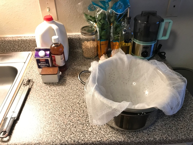 InstaPot Ricotta Cheese Recipe by Ash's In The Kitchen