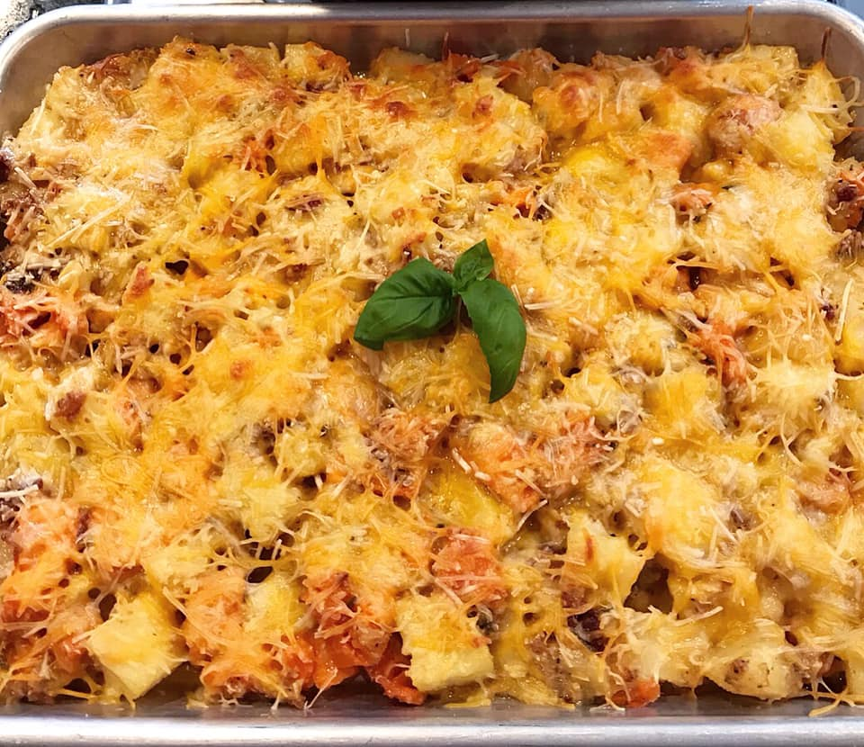 Rosemary and Parmesan Sweet Potato Casserole Recipe by Ash's In The Kitchen