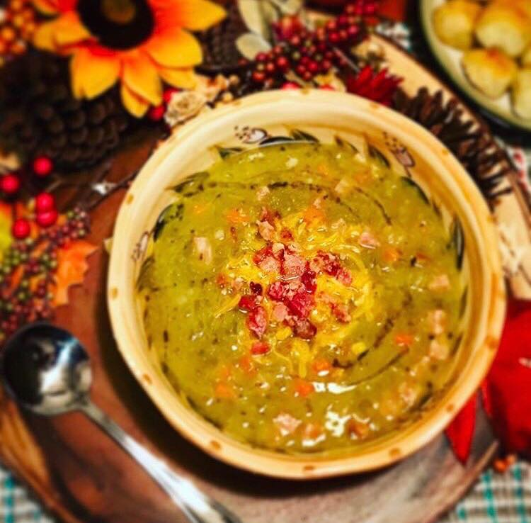 Slow Cooker Split Pea Soup Recipe by Ash's In The Kitchen