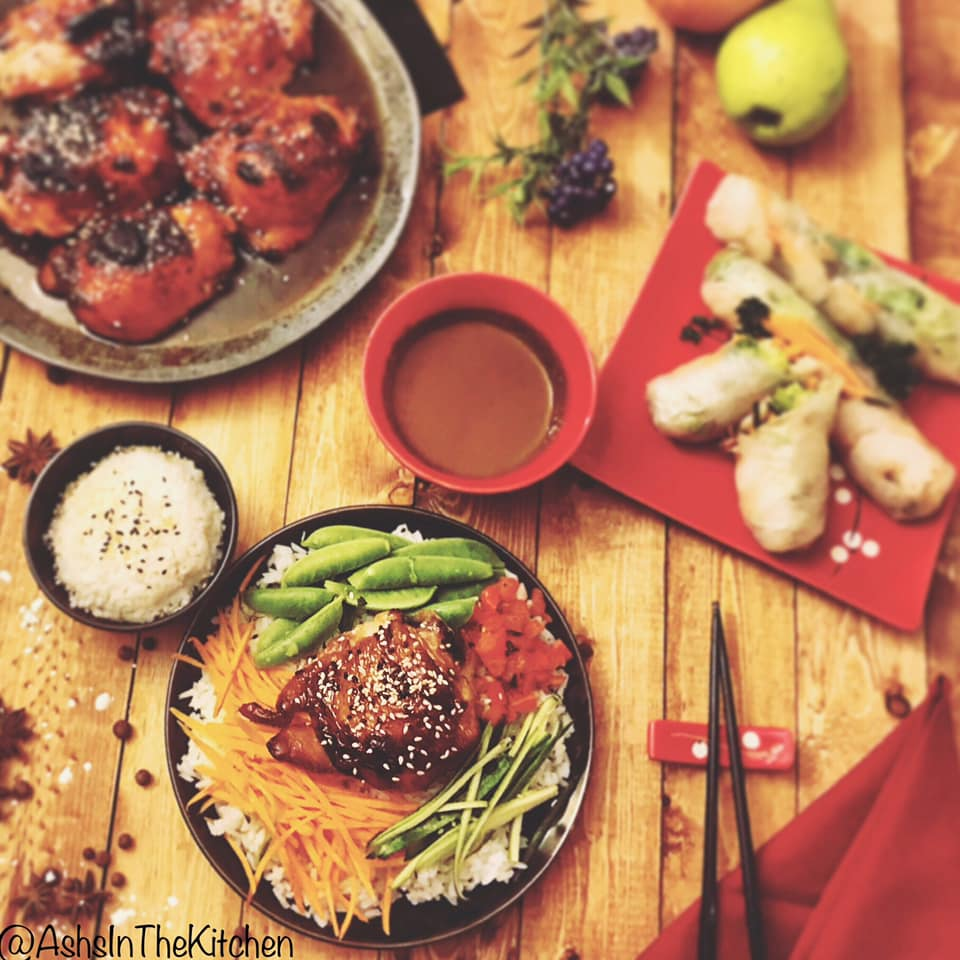 Glazed Sweet Teriyaki Chicken Thighs Recipe by Ash's In The Kitchen