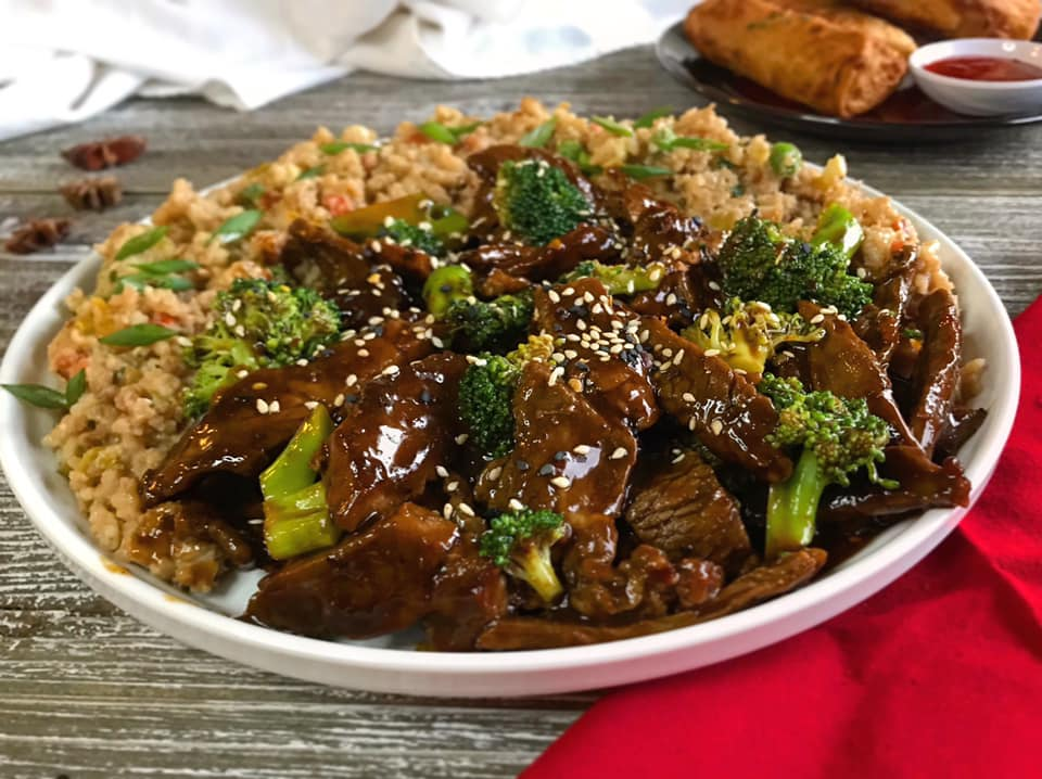 Garlicky Chinese Beef and Broccoli Recipe by Ash's In The Kitchen