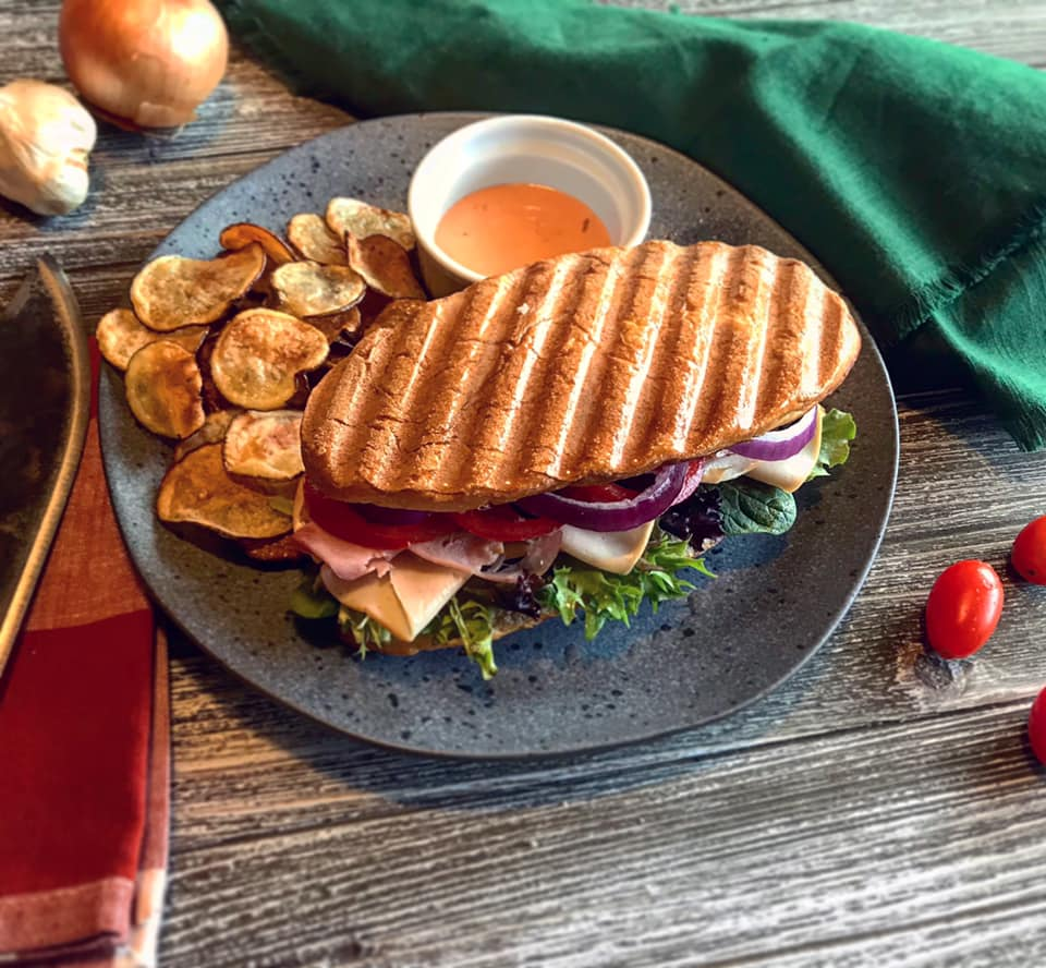 Loaded Turkey Pesto Panini Sandwich Recipe by Ash's In The Kitchen
