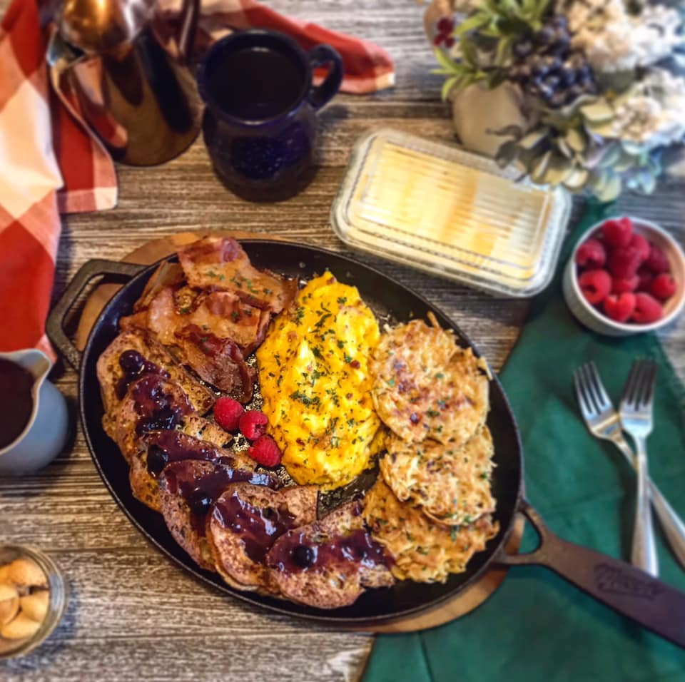 Pan Fried Peppered Hash Browns Recipe by Ash's In The Kitchen