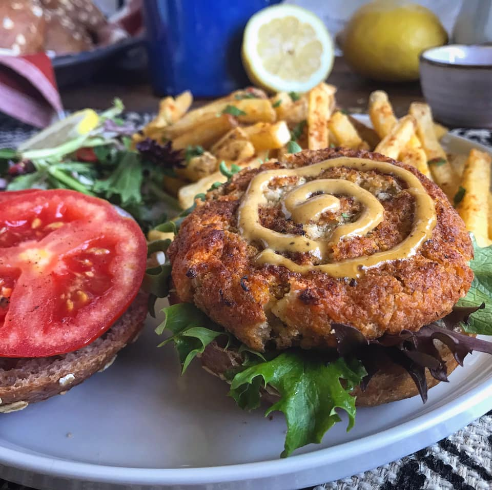 Cajun Spice Crab Cakes Recipe by Ash's In The Kitchen