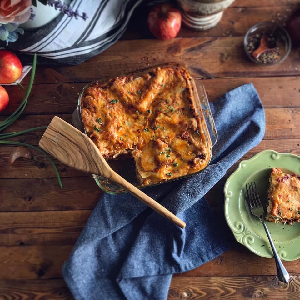 Quick Meatless Lasagna Recipe by Ash's In The Kitchen