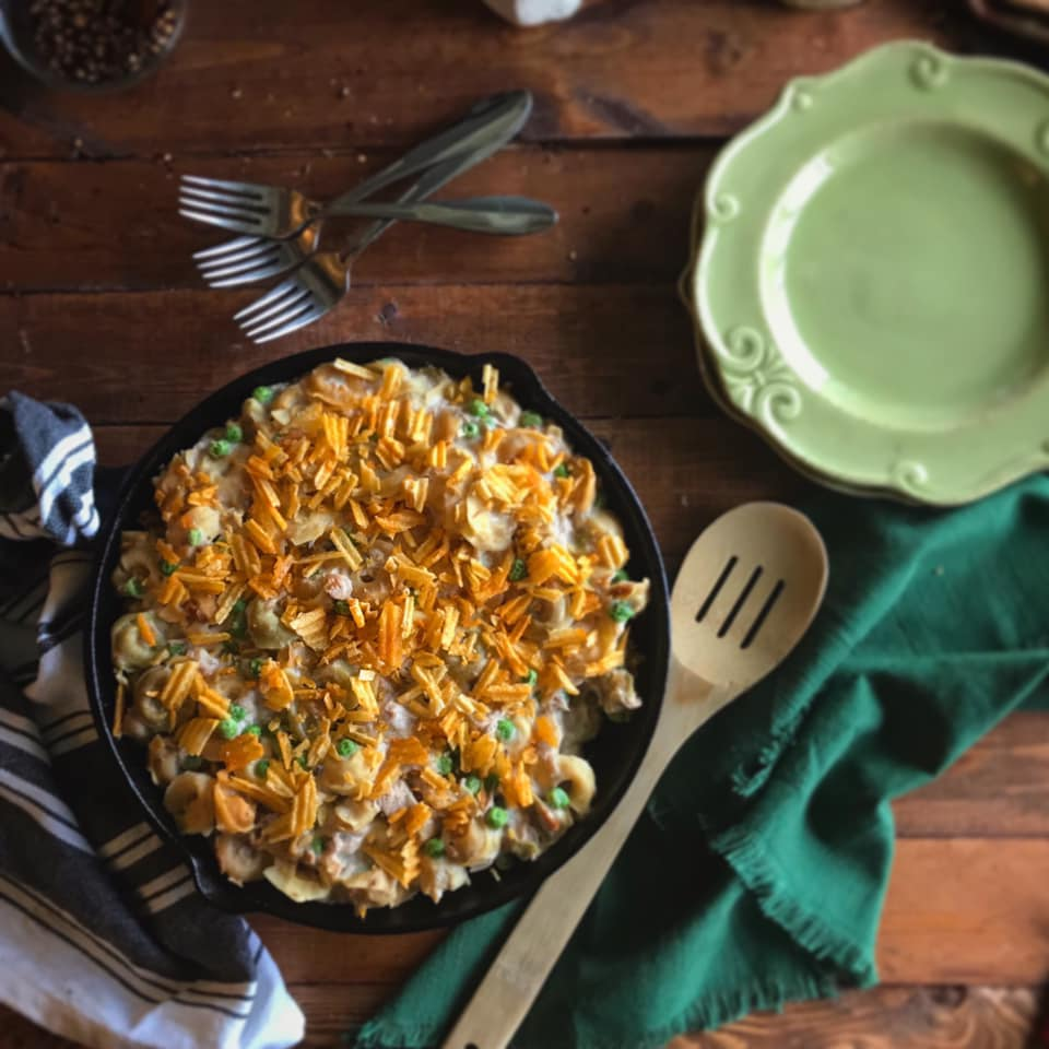 Classic Tuna Casserole Recipe by Ash's In The Kitchen
