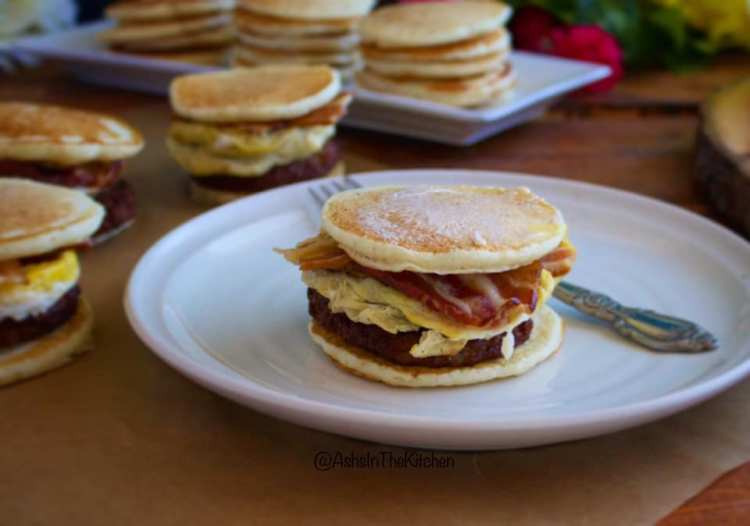 Copycat Sausage Bacon and Egg McGriddles Recipe by Ash's In The Kitchen